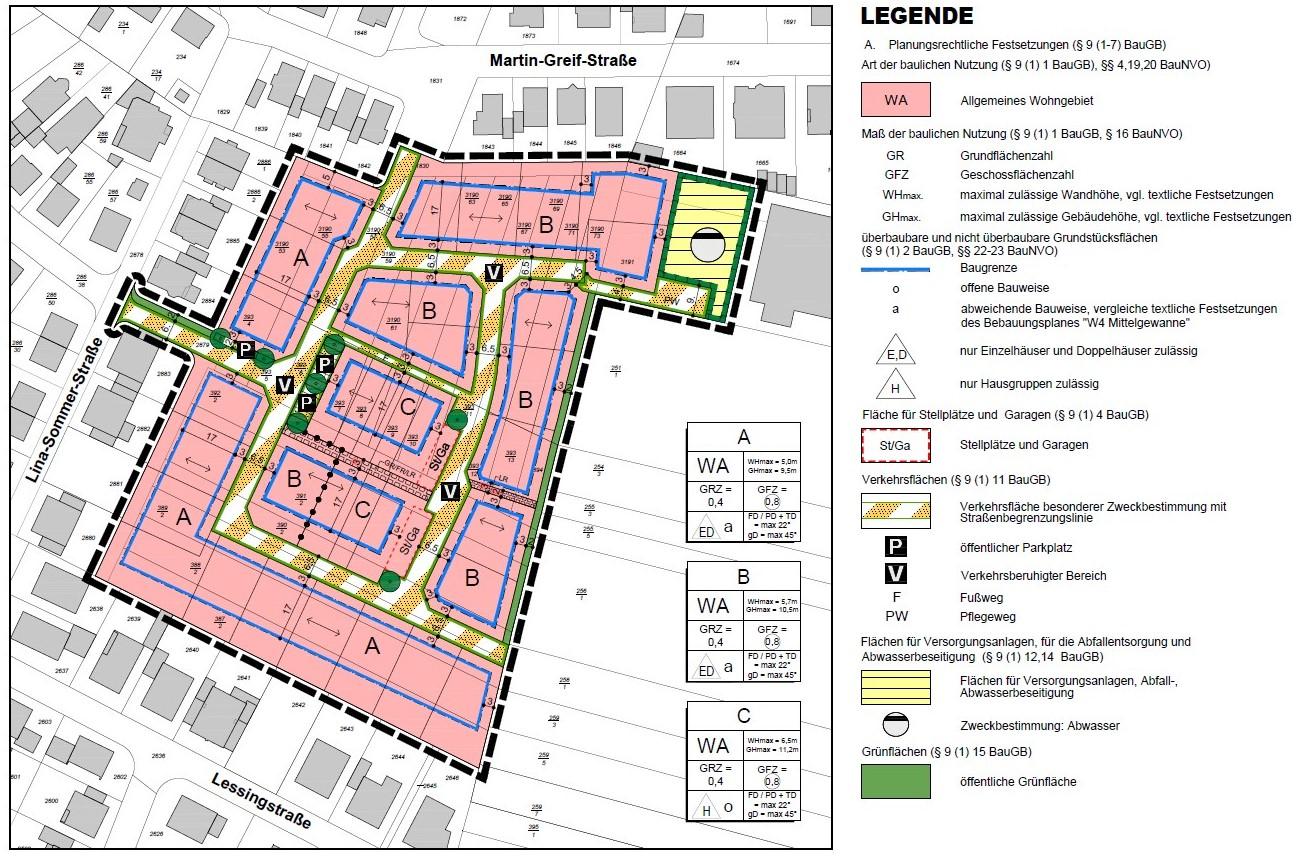 """Bebauuungsplan Römerberg """"W4 Mittelgewanne"""""""